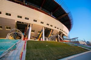 Банкротство подрядчика помешало достроить «Зенит-арену» в назначенный срок