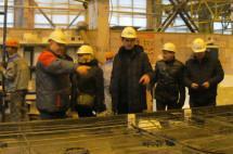 Сибирским СРО устроили экскурсию на ДСК-1