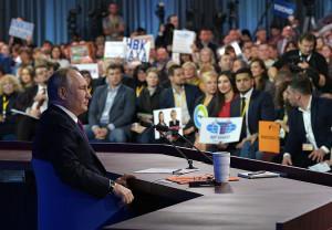 Владимир Путин подтвердил курс на прорыв