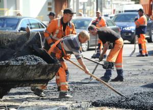 В Подмосковье приступили к ремонту дорог