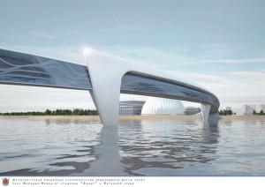 Георгий Полтавченко: «Мост у стадиона на Крестовском острове станет достопримечательностью Петербурга»