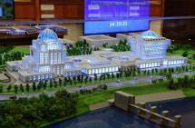 Строительство парламентского центра отложили  до лучших времён