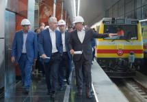 Мэр Москвы запустил новый участок метро