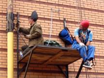 На стройках игнорируют меры безопасности