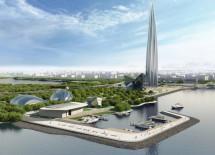 Главгосэкспертиза России одобрила проект «Лахта центра»