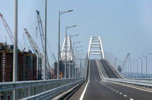Крымский мост поставили на кадастровый учет