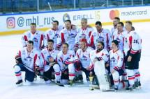 Строители сразились в хоккейном поединке с Федерацией хоккея Москвы