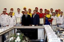 Победителей конкурса «Строймастер» поздравили президент и министр