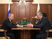 Губернатор Камчатки встретился с президентом