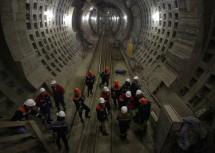 Смольный готов выплатить метростроителям очередную зарплату