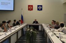 Глава Минстроя РФ встретился с журналистами отраслевых СМИ