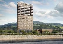 В Норвегии возвели каркас самого высокого в мире деревянного небоскрёба