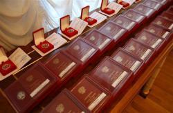 Басаргин вручил награды строителям