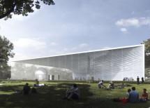 Для строительства павильона атомной энергии выбрали уникальную технологию