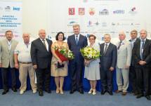 Николай Кутьин вручил членам НОСТРОЙ заслуженные награды