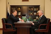 Глава Минстроя встретился с губернатором Ульяновской области