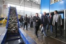 Глава Минстроя открыл мусоросортировочный завод в Иваново