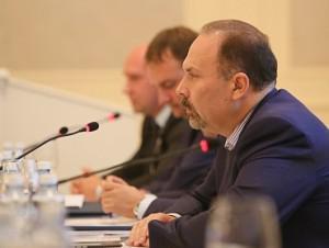 Михаил Мень выступил перед лидерами рынка недвижимости
