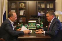 Михаил Мень обсудил с губернатором Вологодской области ход расселения аварийного жилья