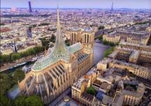 Архитекторы представили проект реставрации Нотр-Дама