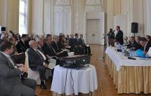 Окружная конференция членов НОСТРОЙ в Санкт-Петербурге: координатор отчитался, СРО выразили недоверие
