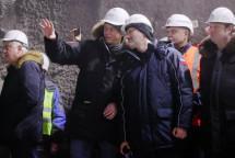 К Крымскому мосту проложили тоннель
