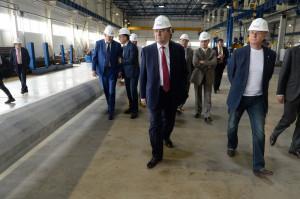 В Ленинградской области запустили завод по производству световых опор