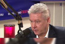 Мэр Москвы «продвинул» реновацию на радио